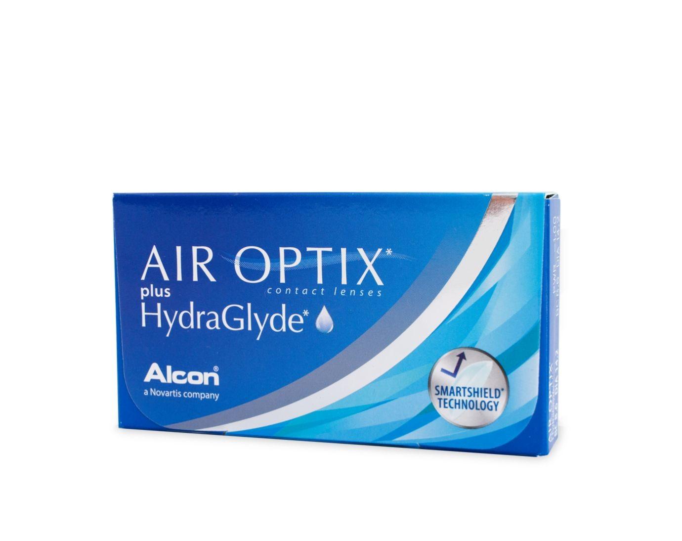 Air Optix plus HydraGlyde yötäpäivää-linssit