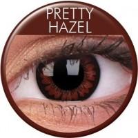 Pretty Hazel ruskeat piilolinssit