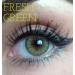 Cheerful Fresh Green vihreät piilolinssit